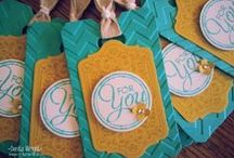 My cards & tags etc / Stampin' Up! Demonstrator