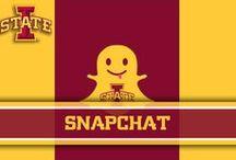 Snapchat / Snapchat / by Iowa State Athletics