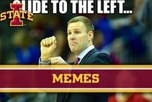 Memes / Inspired by #MemeMonday / by Iowa State Athletics