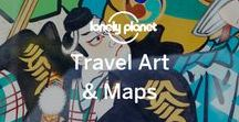 Travel Art & Maps / Vintage gems and other graphic prints, posters and maps from around Pinterest, showcasing parts of the world. (If you're a contributing pinner, please pin a max of 3 pins per day, and not overt spam or we'll have to remove you.)