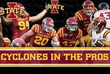 Cyclones in the Pros / Take a look at the Iowa State athletes you loved to watch in action when they were in Ames, now playing professionally.  / by Iowa State Athletics