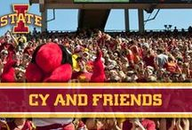 Cy and Friends / Take a look at Cy and all of his friends, want to see your photo with Cy here?  tag your post with #LoyalForeverTrue and we'll pick the best ones for this board. / by Iowa State Athletics