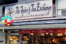 TSTE® of Portland, OR / A Savory Sweet collection from The Spice & Tea Exchange of Portland located at 536 Southwest Broadway. Come in and smell the spices!