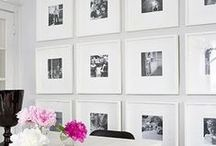 Photo Frame Inspo / Giving you inspiration on all the different ways we can use photo frames to create beautiful spaces in our homes
