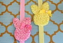 Easter Ideas --- Sunshine Shoppe / Adorable Easter and spring themed crafts, food recipes, decorations and more!