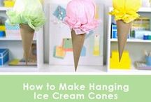 Scooper Ideas (Ice Cream Party) / Ice cream party ideas, ice cream theme activities, games, food and more.