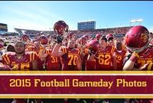 2015 Football Gameday Photos / A collection of photos taken at home games during the 2015 season. / by Iowa State Athletics