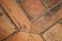 DIY Tile/Paver Flooring