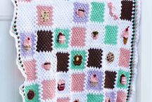 Crochet - Bake Shop Grannies / Bake Shop Granny Square Series - sewrella.com