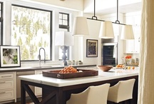 kitchen / i'll always swoon over a white kitchen / by Kara Kimball