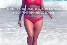 Lets Get Fit. / I just want to be healthy. And love my body. I just want what every other woman wants. Body CONFIDENCE!!