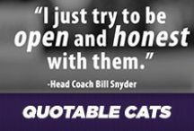 Quotable Cats / Mini pep-talks from the greats of K-State. / by K-State Athletics