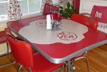 vintage kitchens / VIntage kitchen design and decor / by Marietta Avrus