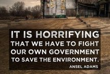 Earth is under siege / The earth is in peril. Man-made climate change and the greed of US Multinationals are the largest threats of all.  / by Kathleen McGregor