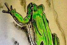 """Los Anfibios y Reptiles de Extremadura / Imágenes de las especies de """"Los Anfibios y Reptiles de Extremadura"""" de M. J. Perianes Carrasco y otros autores."""