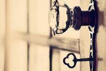 keys and doorknobs / by Marietta Avrus