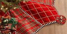 Seasonal:Christmas Tree Skirts / I love Christmas and usually have a different tree in every room. I like to make my own skirts and I have seen some very beautiful ones in the stores.