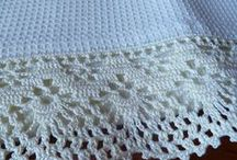 Crochet:Filet All Day / This is a different shape of doily, usually square and also used to create laces, and curtains, tablecloths.  You can incorporate letters and silhouettes of animals, flowers, whatever you choose.