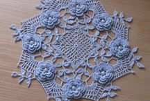 Crochet:Doilies / This is another activity that my grandmother's enjoyed doing. They made it look so easy I was sure I could take it from their hands and just get busy.  Today I have a granddaughter that thinks the same thing.