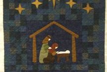Quilting:Christmas / Quilts are a great comfort.  I would love to make enough quilts so that I could change out every bed in my home for every holiday and/or season.   / by Penny Spinster