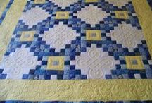 Quilting:Irish Chain / One of my favorite quilt blocks is the Irish Chain.  It is easy and the results are always pleasing. / by Penny Spinster