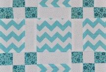 Quilting:Nine Patch / The nine patch.  A patch or block on a quilt with 9 smaller sewn together in an alternating way or whatever your choice.   This is certainly one of the more simplest quilts to make. / by Penny Spinster