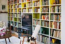 Home and Decor - Bookshelves/ Home Library ❤️ / Books, Bookshelf