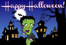 Betty Boop ~ Halloween / For 1,000's of FREE Betty Boop Graphics & Greetings ~  bettybooppicturesarchive.blogspot.com