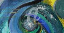 Magda Hoibian Artiste / Peinture Intuitive  Intuitive Painting MixedArtMedia French Artist www.peinture-intuitive.com