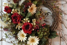 Wreaths & Door Decorations / by Retta Woolery Dircksen