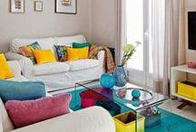 Home sweet home / Minhas inspirações para transformar sua casa em um verdadeiro lar!