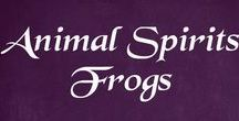 Animal Spirits - Frogs / Frogs in pictures and art, plus some info on the spirit animal