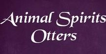 Animal Spirits - Otters / Otters in pictures and art, plus some info on the spirit animal