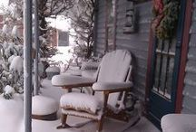 ≈  Christmas in a chalet in the snow... ❄❄❄