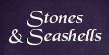 Stones, seashells - ideas, tips, tricks, hacks, tutorials, and advice / All kinds of ideas, info, tutorials, tips, tricks, and advice on things you can make from stones and seashells. From painting on stones and shells to building with them.