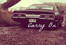 Supernatural / I'm officially obsessed  / by Katie Mullin