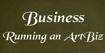 Business - Running an art business / Tips for the Professional Artist. Both business tips and art tips.