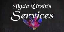 Linda's Services / My mission is to get you to rekindle your creativity. To give you courage and confidence, to support you in owning who you are, expressing yourself, and in making your life more fulfilling. I do this through my art, my blog, programs, cups of tea, and intuitive work.