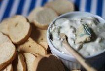Easy snacks / Easy snacks recipes. Receitas fáceis para beliscar.