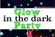 Glow, fluorescent...