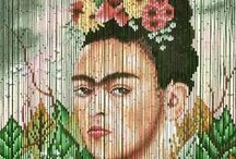 Frida Kahlo / Kitsch Kitchen likes Frida Kahlo! The quirky painter has been an inspiration to us for years. We hope she inspires you as well!