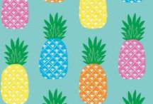 Kitsch Kitchen prints / Prints designed by Kitsch Kitchen for oilcloth and self-adhesive foil.