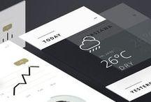 UI design - UX design / Applications, beautiful designs