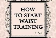 Corset Training 101 / Information on our corsets and general corset wearing tips.