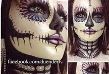 Halloween Make-Up and Hair Inspiration / Great Make-up and Hair tips to complete your Costume