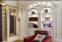 Luksusowe wnętrze w stylu tradycyjnym / Luxurious interior design with traditional style / Luksusowe wnętrze w stylu tradycyjnym - Styl tradycyjny - Wystrój luksusowych wnętrz - Aranżacja domu  Zobacz więcej na www.amarantowestudio.pl