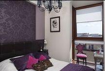 Aranżacja małej przestrzeni mieszkalnej / Small apartment interior design / Aranżacja małej przestrzeni mieszkalnej - Wystrój małych wnętrz - Urządzanie małych mieszkań.  Zobacz więcej na www.amarantowestudio.pl