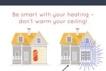 Infrared Heating Infographics / We use infographics to explain the benefits and the way infrared heating works.
