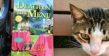 DEATH ON THE MENU: Key West Food Critic Mystery #8 / Coming to bookstores on AUGUST 7, from Crooked Lane Books. People, places, and food that will make an appearance in this mystery!