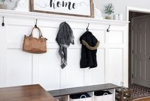 Entryway Decor / Entryways, Foyers, Mudrooms and more
